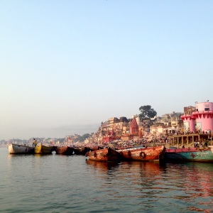 Varanasi Banks of River Ganges
