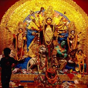 Kolkata Durga Puja Idol