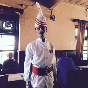 Shimla India Coffee House Waiter
