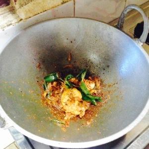 Kerala Backwater Fresh Prawns Cooking
