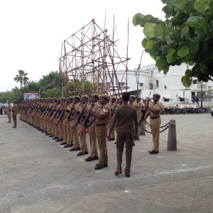 Pondicherry Military Parade