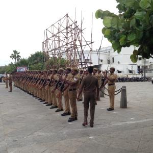 Pondicherry Military Parade