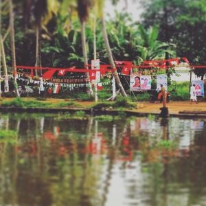 Kerala Communist Bunting