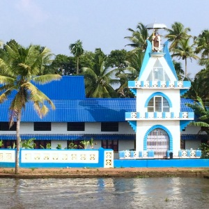 Kerala Backwaters Church