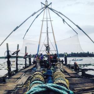 Kerala Fort Cochin Chinese Fishing Nets