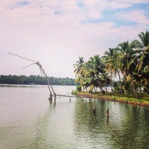 Kerala Backwaters Chinese Fishing Nets