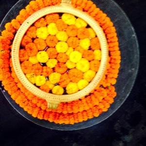 Indian Wedding Mehendi garlands