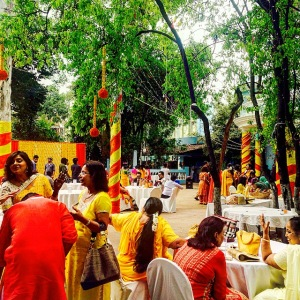 Indian wedding Mehendi party