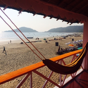 Palolem Beach Hut Hammock Goa