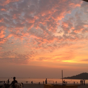 Palolem Beach Goa Sunset
