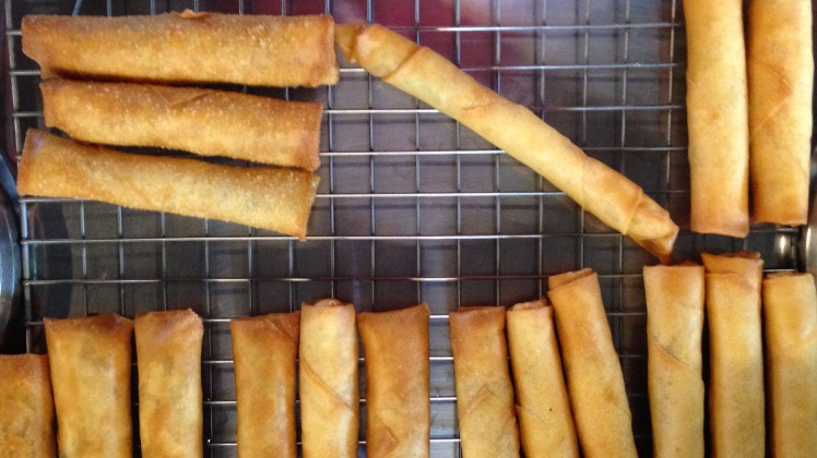Chaing Mai Cookery Class Spring Rolls