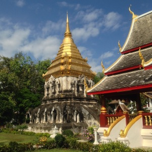 Chiang Mai Gold-topped Temple