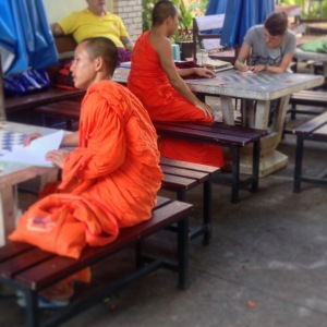 Chiang Mai Monk Chat