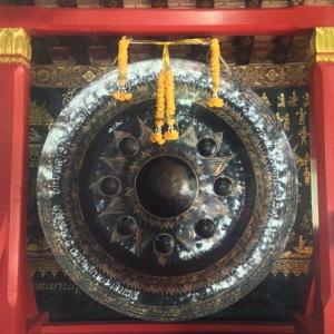 Luang Prabang Temple Gong