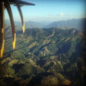 Luang Prabang View From Plane