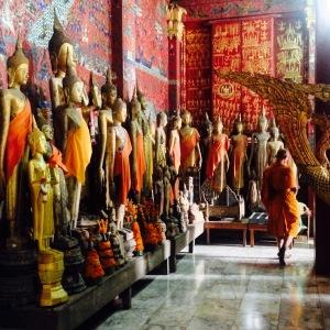 Luang Prabang Buddhist Monk