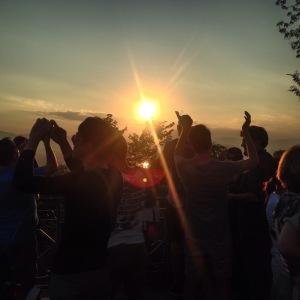 Luang Prabang Mount Phousi Sunset