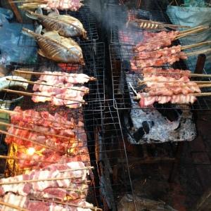 Luang Prabang Street Barbecue