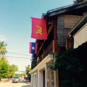 Luang Prabang Communist Flag