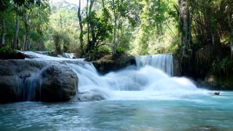 Luang Prabang Kuang Si Waterfalls