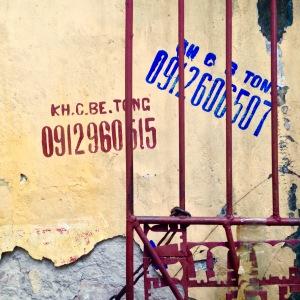 Hanoi Old Quarter Graffiti