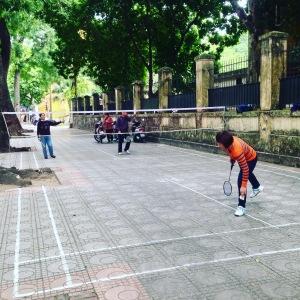 Hanoi Street Badminton