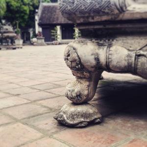 Hanoi Temple of Literature Stone Tortoise