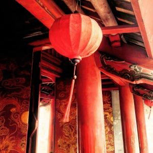 Hanoi Temple of Literature Lanterns
