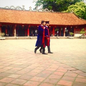 Hanoi Temple of Literature Graduates