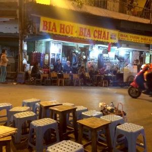 Hanoi Street Cafes