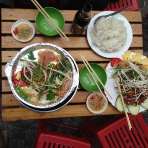 Hanoi Old Quarter Street Food Barbecue