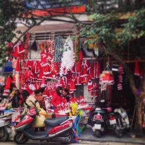 Hanoi Old Quarter Santa Suit Shop