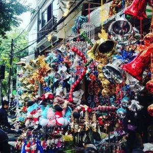 Hanoi Christmas Shops