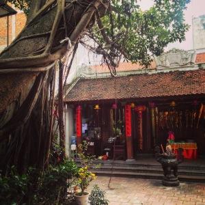Hanoi Communal House Courtyard