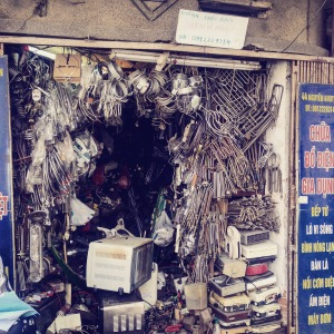 Hanoi Old Quarter Shop