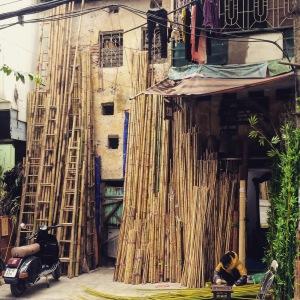 Hanoi Old Quarter Bamboo Workshop