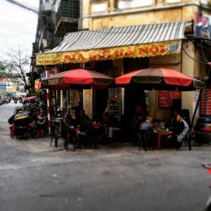Hanoi Old Quarter Bia Hoi Stall