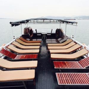 Halong Bay Boat Sundeck