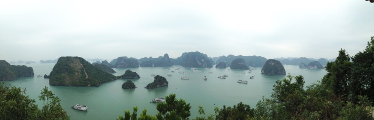 Halong Bay Titop Mountain Panorama