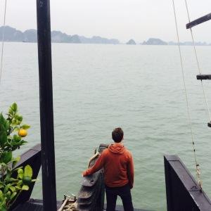 Halong Bay Boat Deck View
