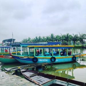 Hoi An Fishing Boats