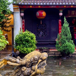 Hoi An Temple Courtyard