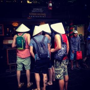 Hoi An Tourists