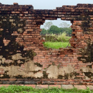 Hue Imperial City Crumbling Walls