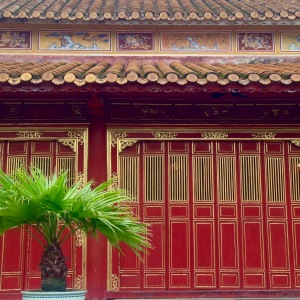 Hue Imperial City Red Walls