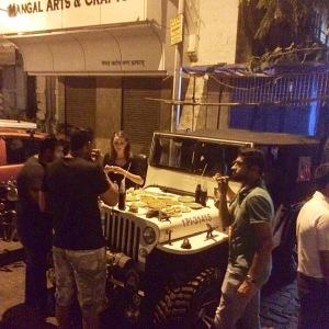 Mumbai Bademiya Street Food