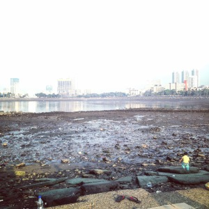 Mumbai Low Tide